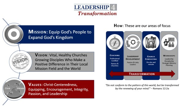 L4T mission vision values